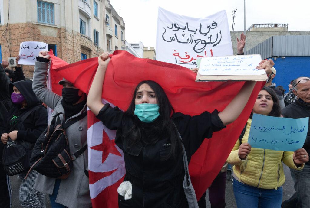tunisia, proteste