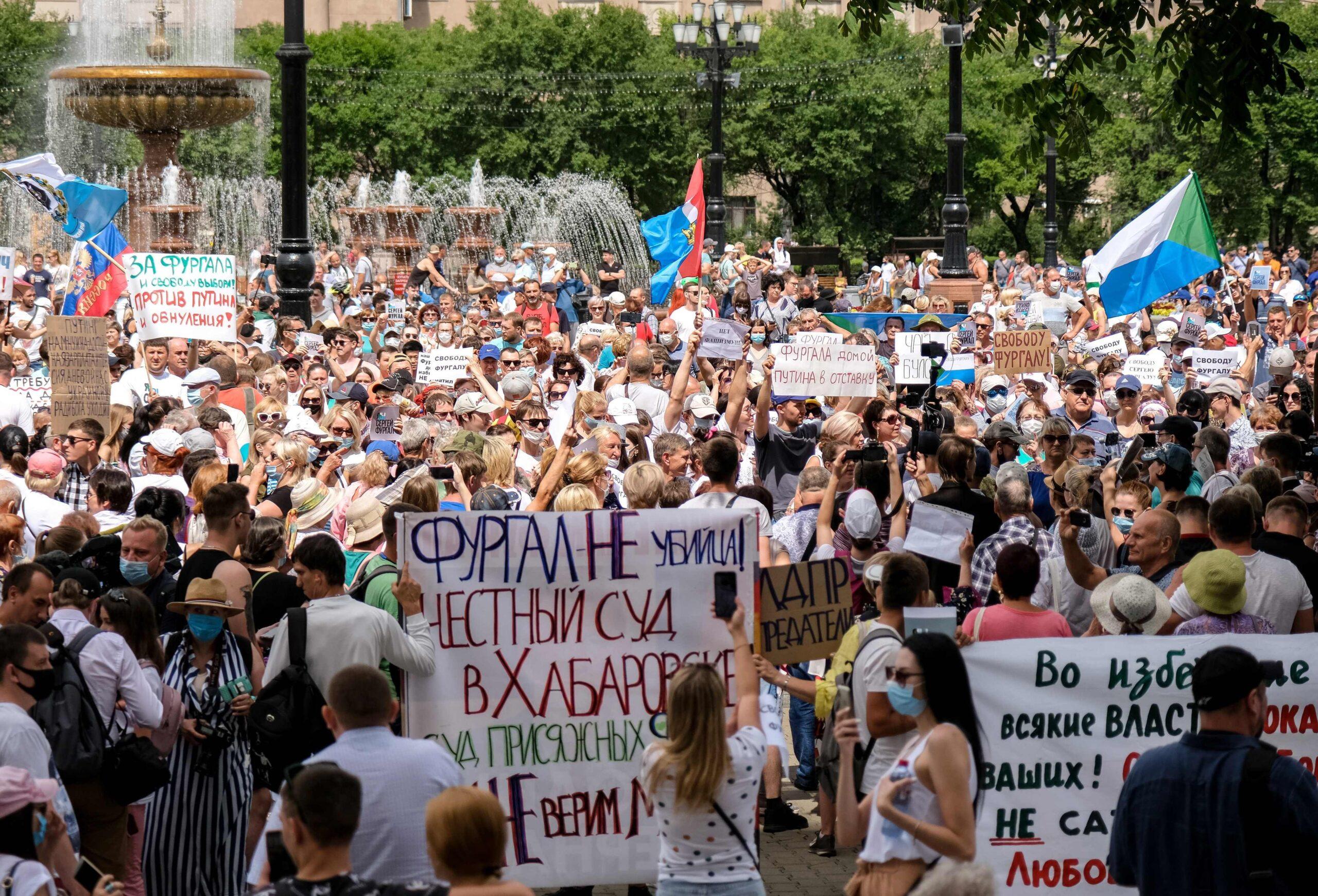 Aleksej Navalny e la crisi russa